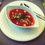 velouté de tomates & homard