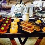 Plateau des desserts : si dur de choisir !