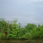 Rainbow over Lake Superior