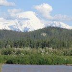 Mt. Sanborn from Riverview B&B