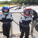 Kitted up and ready to go (Ages 8 & 10)