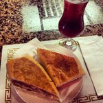 Cuban Sandwich and house Sangria