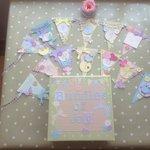 Baby shower craft activity