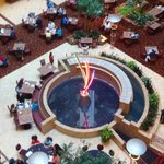 Water feature in Lobby
