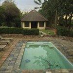 Der kleinere Pool