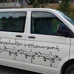 the guest shuttle van