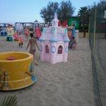 I giochi al Bagno 85 in spiaggia