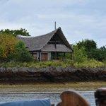 huisje op het eiland