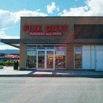 Five guys burgers, Westside Kelowna