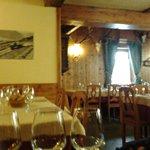 Sala da pranzo del ristorante Cavallino