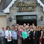 Our Ladies Group Delighted with our stay at Bunratty Manor