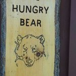 sign outside the Hungry Bear