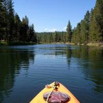 Kayaking at Sparks Lake