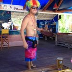 Our mate George :)) one of many wonderful staff at Sugar Beach