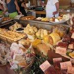 An array of excellent delicatessen