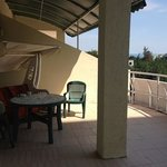 Terrace of the apartment 41A