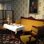 The Bishop's parlor.
