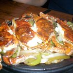 Soft shell crab fajitas