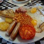 "le ""full english breakfast"""