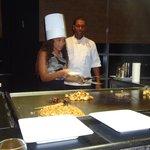 Luis the Chef at Mizu teaching future chef