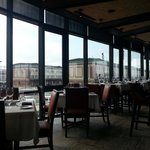 A great view of the Boston Fish Pier from the bar