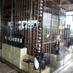 An amazing wine selection
