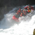 Going over the falls