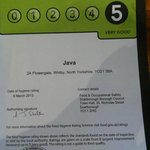 Hygiene rating 5