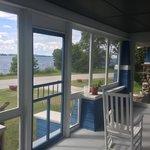 Porch at Inn at the Isles