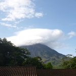 Arenal Volcano view from Tabacon