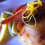 Salmon with Scalloped Potatoes..........
