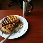 Mix and match waffles! Yummy!