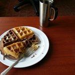 Mix and match waffles! Yummy!