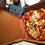 Delicious large Roman pizza!!!