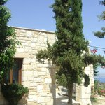 Entrance to villa calliope