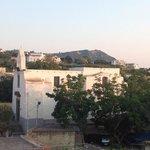 Vista desde el hostel