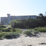 Best Western from beach