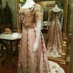 Beautiful women dress from golden rush times