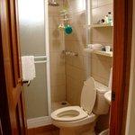 Second floor bathroom in Suite 5