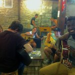 Daily spontaneous hostel jam sessions with musicians from all over the world.