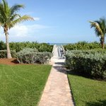 Sanibel Moorings path to the beach