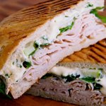 Turkey Apple and Brie Melt