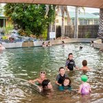 Hot mineral pool 38 degrees celcius