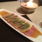 Yellow tail sashimi
