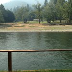 The dock on the Rogue River.