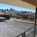 Pool and Carpark