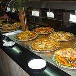 pizzas del el restaurant italiano