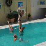 Fun by the Pool