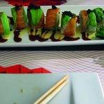 Avocado Sushi Dragon