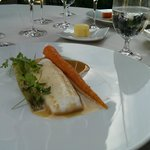 Lemon sole with carrots & fennel